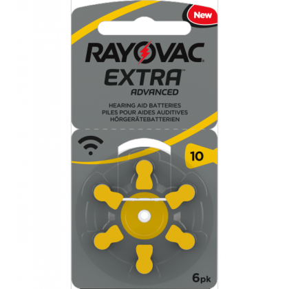 Battery 10 Rayovac PP MF  (60 pcs pack)(price in store is for 1 battery)