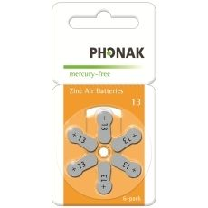 Battery 13 PowerOne Phonak MF (60 pcs pack)(price in store is for 1 battery)