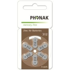 Battery 312 PowerOne Phonak MF (60 pcs pack)(price in store is for 1 battery)