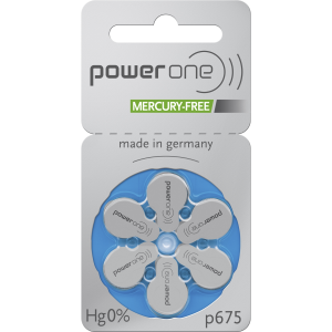 Battery 675 PowerOne MF (60 pcs pack)(price in store is for 1 battery)